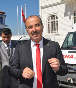 Mudanya Belediye Başkanı Hayri Türkyılmaz