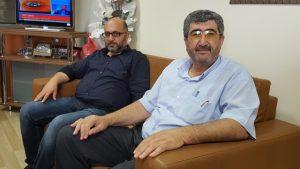 ANAYOL PARTİSİ GENEL BAŞKANI ZAFER MADEN VE YAVUZ FİDANCIOĞLU